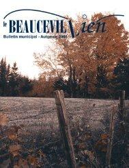 Infos communautaires - Ville de Beauceville