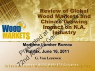 China - Maritime Lumber Bureau