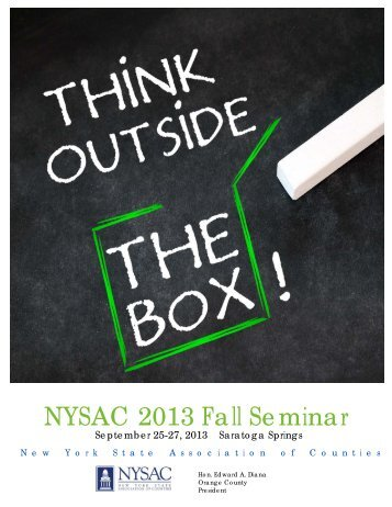 Fall Seminar - New York State Association of Counties