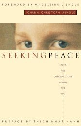 Seeking Peace - Notes and Conversations along the Way - Plough