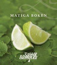 matiga boken - Säbb & Blomqvist Catering
