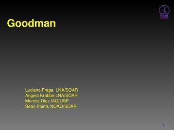 GUI do Goodman