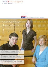 Studienkredit - GSG Oldenburg