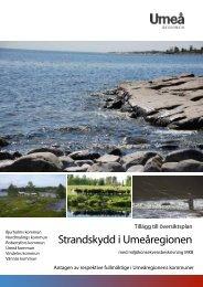 Strandskydd i Umeåregionen - Robertsfors kommun