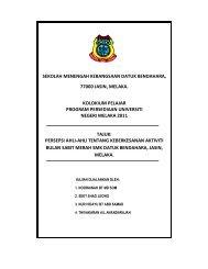 SMK Datuk Bendahara - Program Persediaan Universiti SMK Seri ...