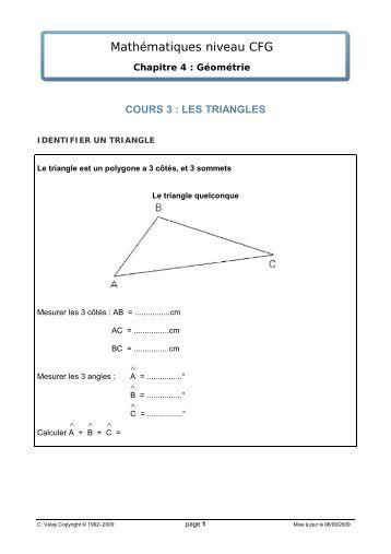 cours 3 - Matheur