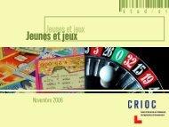 Jeunes et jeux - Crioc