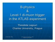 B-physics & Level-1 di-muon trigger in the ATLAS experiment