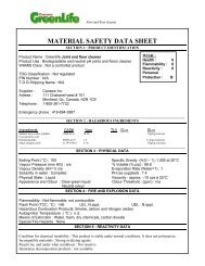 Download the MSDS for this product - Cansew, Inc