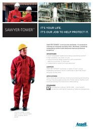 SAWYER-TOWER™ - Ansell Protective Solutions