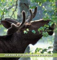 julkisen riistakonsernin strategia - Maa- ja metsätalousministeriö