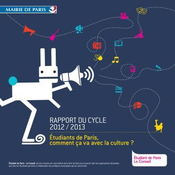 RAPPORT DU CYCLE 2012 / 2013 - Etudiantdeparis.fr
