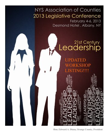 Leadership - New York State Association of Counties