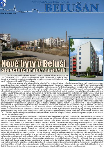 Belušan 10/2012 v elektronickej podobe (pdf)