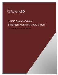 ASSIST Guide for Building Goals & Plans - Ashland Independent ...