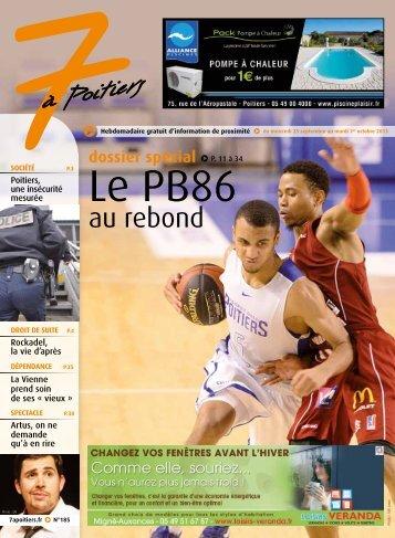 n° 185 voir ce numéro - 7 à Poitiers