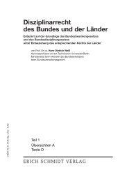 Disziplinarrecht des Bundes und der Länder - Soldan.de