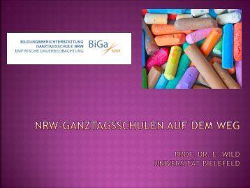 Kommentar: NRW-Ganztagsschulen auf dem Weg (Prof. Dr. Elke Wild)