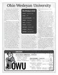 2008-09 guide - Ohio Wesleyan University - Page 2