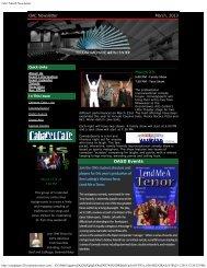 OAC March Newsletter - Oconomowoc Area School District