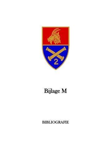 Bijlage M - Bibliografie - 2de-artillerie.be