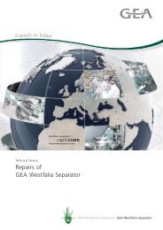 Repairs of GEA Westfalia Separator pdf, 133.7 KB