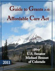 Guide to Grants in the Affordable Care Act - the CAWACO RC&D ...