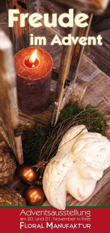 Flyer - Adventsmarkt 2010 - KLIEBIWEB.COM
