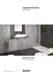 Bathrooms: mosaics - Butech