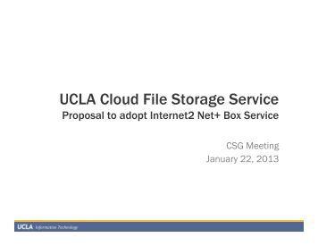 Service file system