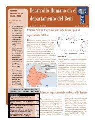 Beni - Naciones Unidas en Bolivia
