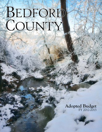 Adopted Budget - Bedford County, Virginia
