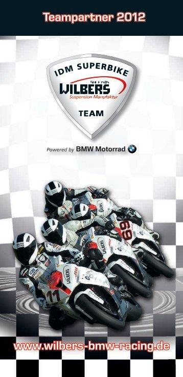 Teampartner 2012 www.wilbers-bmw-racing.de