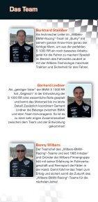 Teampartner 2012 www.wilbers-bmw-racing.de - Seite 5