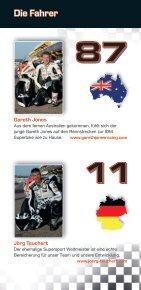 Teampartner 2012 www.wilbers-bmw-racing.de - Seite 6