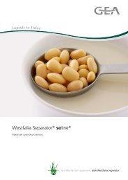 GEA Westfalia Separator® soline® pdf, 534.9 KB