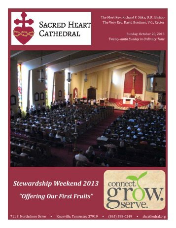 Bulletin - Sacred Heart Cathedral