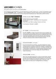 Infobrief der Firma Leicher Wohnen | Hachenburg