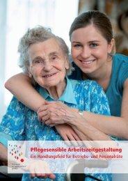 Broschüre: Pflegesensible Arbeitszeitgestaltung - Familie - DGB
