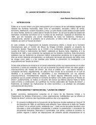 El Lavado De Dinero Y La Economía En Bolivia - Unidad de Análisis ...