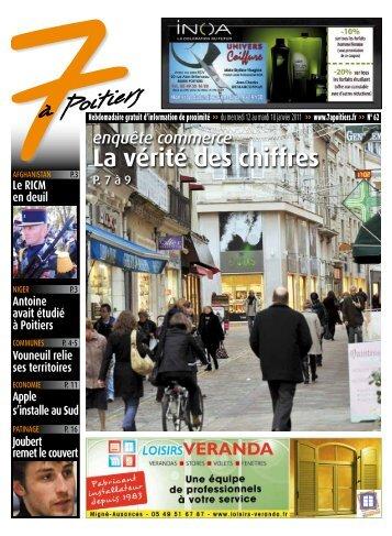 n° 62 voir ce numéro - 7 à Poitiers