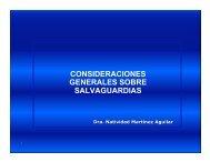consideraciones generales sobre salvaguardias - Reposital