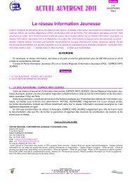 Le réseau Information Jeunesse - Le portail de l'information ...