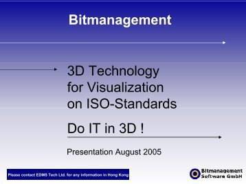 Bitmanagement Products - EDMS Consulting Ltd