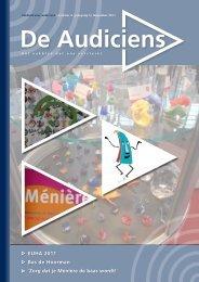 Vakblad voor audiciens   nummer 4   jaargang 5 - De Audiciens