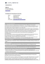 FIRMENPROFIL - Future: Consulting