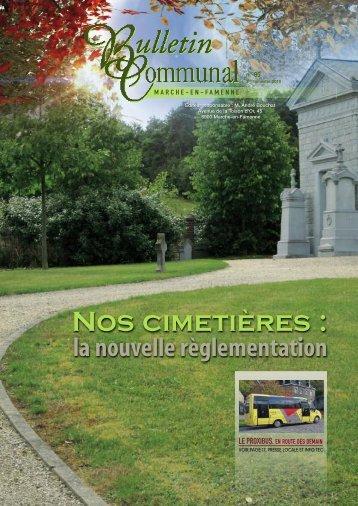 Nos cimetières - Marche-en-Famenne