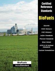 BioFuels Brochure - AccuStandard