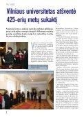 PDF versija - VU naujienos - Vilniaus universitetas - Page 4