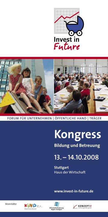 13. – 14.10.2008 - Familienfreundlicher Wirtschaftsstandort